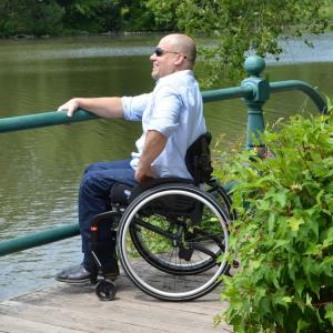 Invacare Matrx Elite E2 back lifetyle